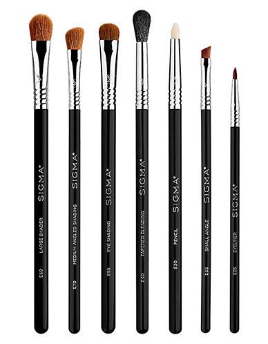 Sigma Beauty Seven-Piece Basic Eyes Brush Kit-NO COLOUR-One Size