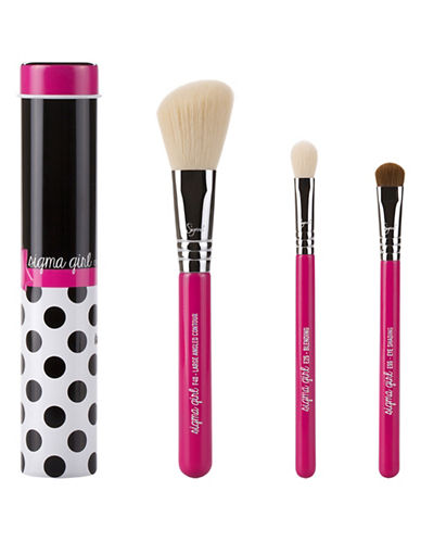 Sigma Beauty Four-Piece Colour Pop Brush Kit-NO COLOUR-One Size