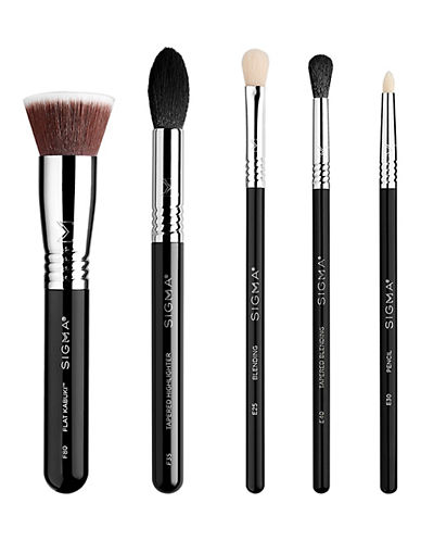 Sigma Beauty Five-Piece Most-Wanted Brush Set-NO COLOUR-One Size