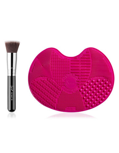 Sigma Beauty The Power Pair Brush and Mat Duo Set-NO COLOR-One Size