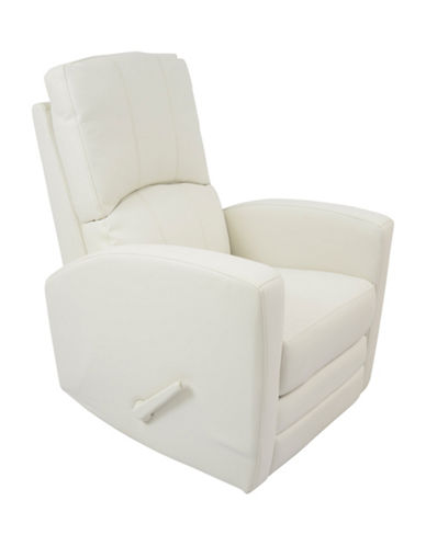 Kidiway Habana Bonded Leather Chair-WHITE-One Size