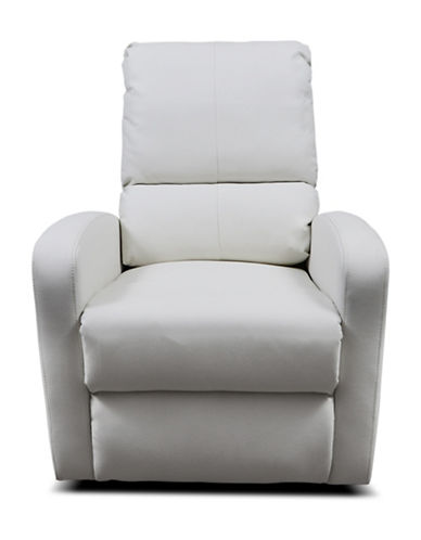 Kidiway Bermuda Bonded Leather Chair-WHITE-One Size