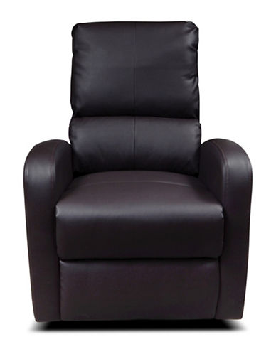Kidiway Bermuda Bonded Leather Chair-BROWN-One Size