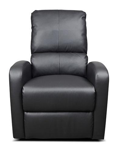 Kidiway Bermuda Bonded Leather Chair-GREY-One Size