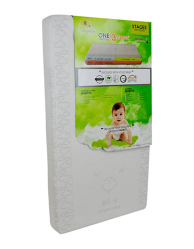 Kidicomfort Stages 3-in-1 Organic Mattress-MULTI-One Size