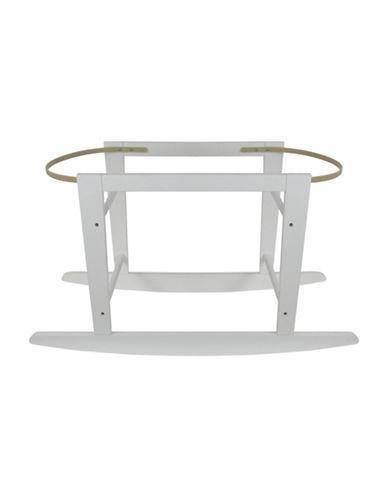Kidicomfort KidiComfort Wooden Bassinet Stand-WHITE-One Size