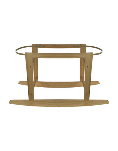 Kidicomfort KidiComfort Wooden Bassinet Stand-NATURAL-One Size