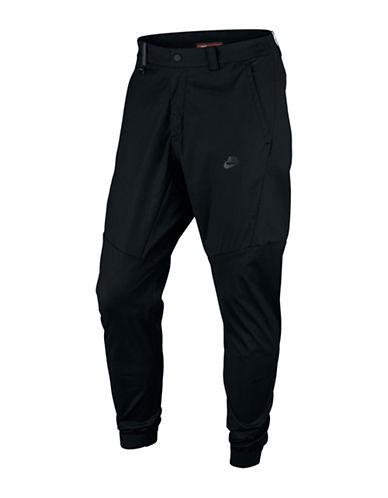 Nike Sportswear Bonded Jogger Pants-BLACK-30 88501758_BLACK_30