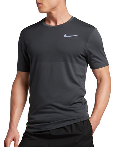Nike Zonal Cooling Relay Running T-Shirt-GREY-X-Large 89017765_GREY_X-Large