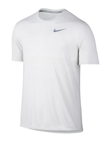 Nike Zonal Cooling Relay Running T-Shirt-WHITE-X-Large 89017770_WHITE_X-Large