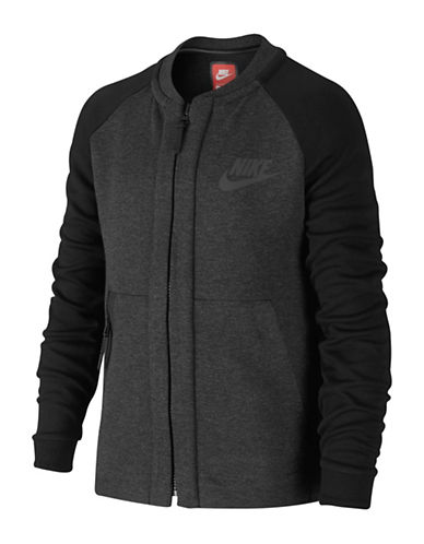 Nike Tech Fleece Jacket-BLACK-Large 89589208_BLACK_Large