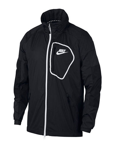 Nike Sportswear Advance 15 Jacket-BLACK/WHITE-Small 89848088_BLACK/WHITE_Small