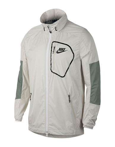 Nike Sportswear Advance 15 Jacket-GREEN-Medium