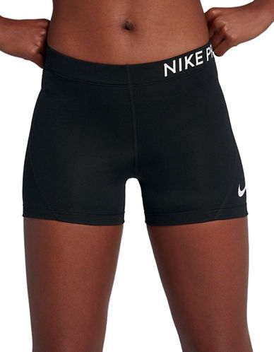 Nike Logo Stretch Shorts-BLACK-Large 89894968_BLACK_Large