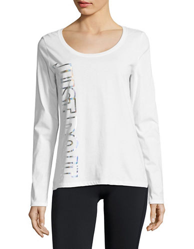 Nike Metallic Graphic Cotton Tee-WHITE-Large 89655633_WHITE_Large