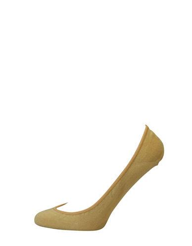 Point Zero Plain No Show Liner Socks-NATURAL-One Size