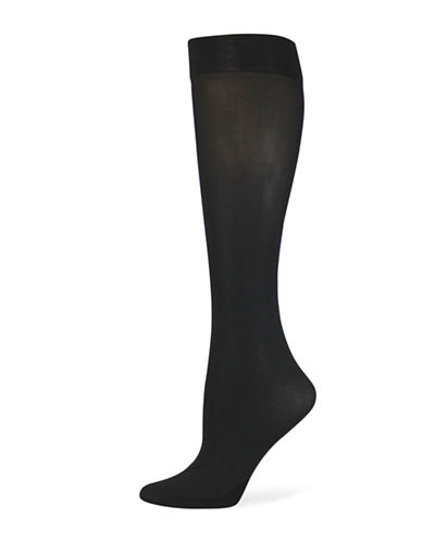 Point Zero Solid Trouser Socks-BLACK-One Size