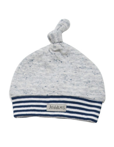 Juddlies CITY Newborn Cotton Hat-BLUE-Newborn
