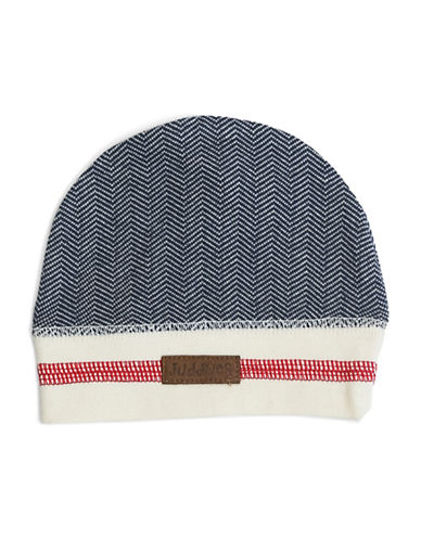 Juddlies Cottage Beanie-BLUE-4-12 Months