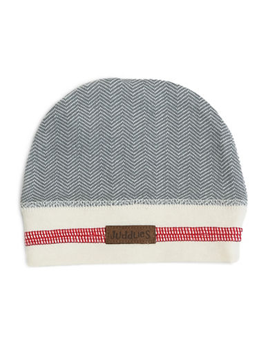 Juddlies Cottage Beanie-GREY-4-12 Months
