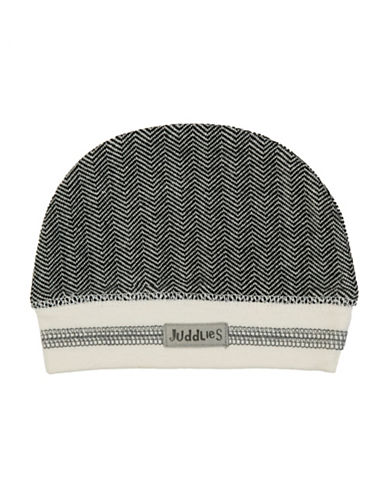 Juddlies Cottage Beanie-BLACK-4-12 Months