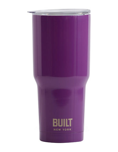 Built Tapered Graphic Tumbler-PURPLE-One Size