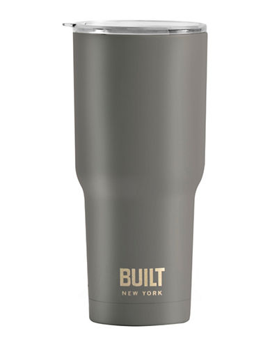 Built Tapered Graphic Tumbler-CHARCOAL-One Size