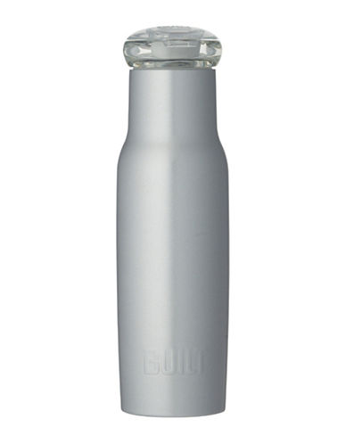 Built Curved Graphic Bottle-SILVER-One Size