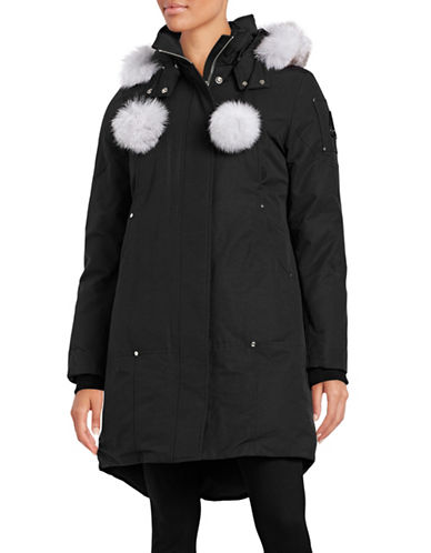 Moose Knuckles Stirling Down Parka-WHITE-X-Small