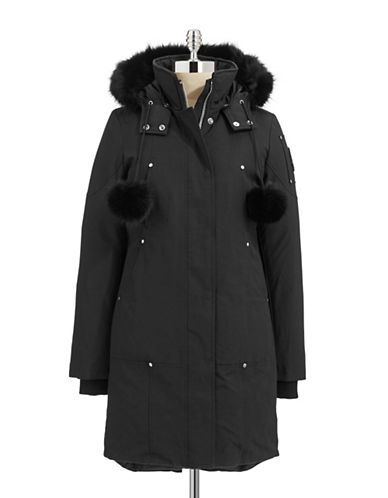 Moose Knuckles Stirling Down Parka-BLACK-Small