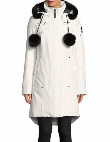 Moose Knuckles Stirling Down Parka-WHITE-X-Large
