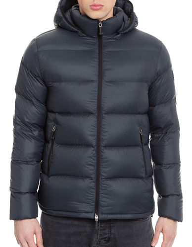 Moose Knuckles Wood Puffer Men-NAVY-Small