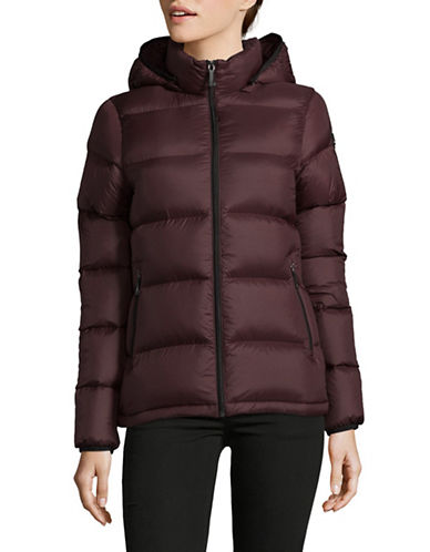 Moose Knuckles Lightweight Down-Fill Puffer Jacket-RED-Medium 89487985_RED_Medium
