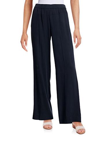 Vince Wide Leg Silk Pants-BLUE-Small 88336149_BLUE_Small