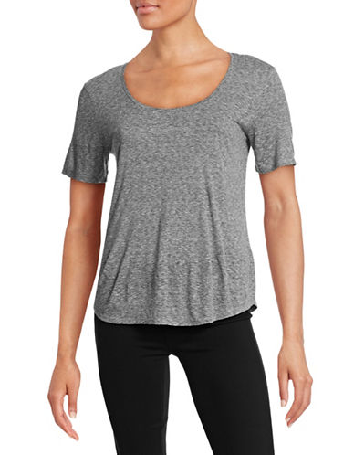 Vince Scoop Neck T-Shirt-GREY-X-Small 88399686_GREY_X-Small