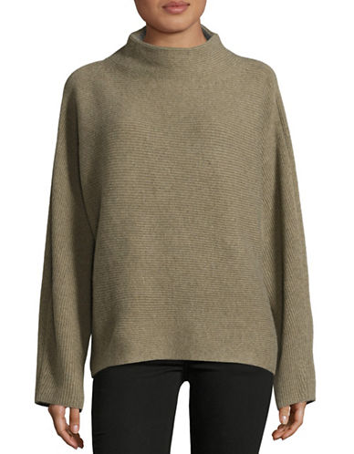 Vince Funnel Neck Merino-Cashmere Sweater-GREY-Small 88678643_GREY_Small