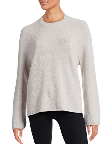 Vince Textured Raglan Merino-Blend Sweater-BEIGE-Medium