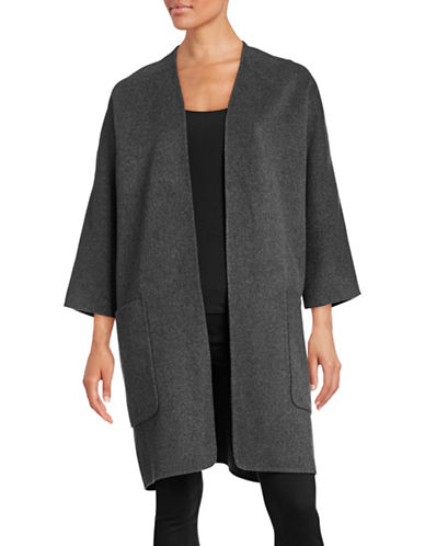 Vince Reversible Wool-Cashmere Jacket-GREY-Large 88678597_GREY_Large