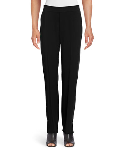 Vince Lounge-Style Ponte Pants-BLACK-X-Small 88783424_BLACK_X-Small
