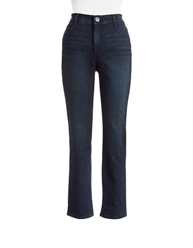 Style And Co. Petite Tummy Control Slim Jeans-PRESTON-Petite 10