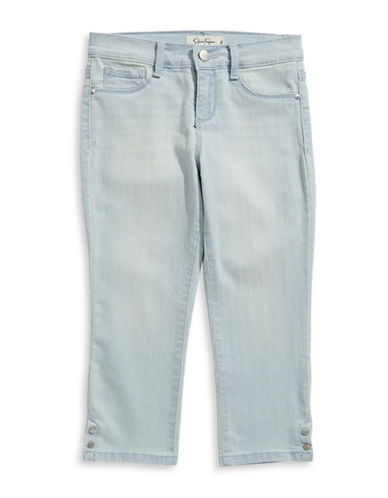 Jessica Simpson Snap Cropped Skinny Jeans-GREY-8
