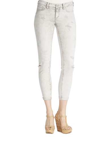 Jessica Simpson Forever Rolled Skinny Jeans-GREY-25
