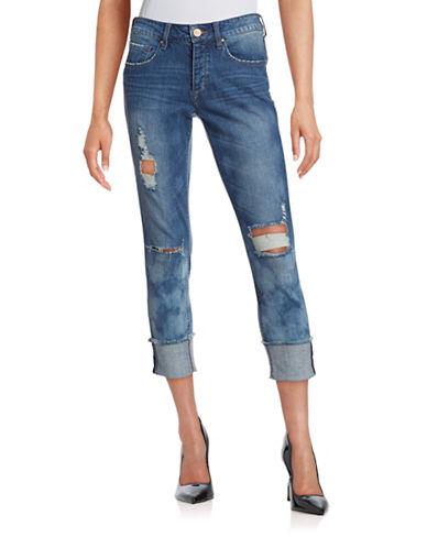 William Rast The Boy Cuffed Jeans-MEDIUM BLUE-29