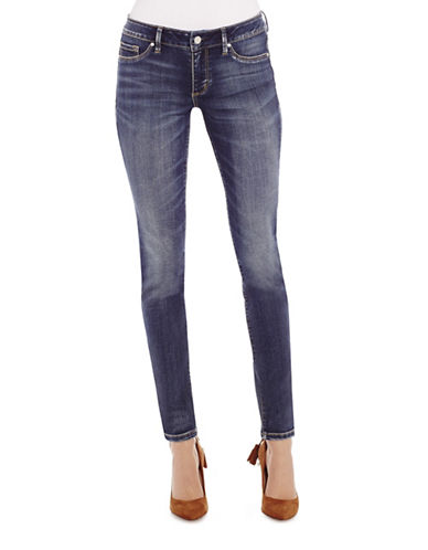 Jessica Simpson Kiss Me Skinny Jeans-BLUE-30
