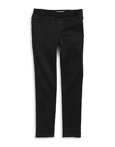 Jessica Simpson Grace Pull-On Skinny Jeans-BLACK-12