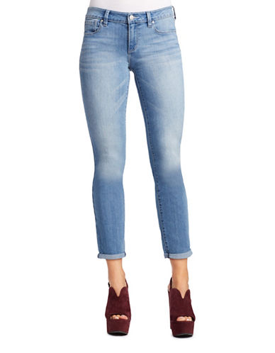 Jessica Simpson Forever Rolled Skinny Jeans-BLUE-25