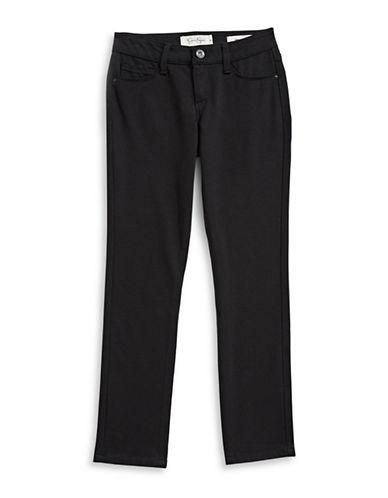 Jessica Simpson Kiss Me Ponte Skinny Jeans-BLACK-16