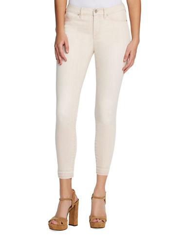 Jessica Simpson Kiss Me Ankle Skinny-Fit Jeans-PEACH-25