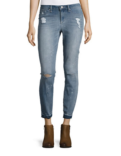 Jessica Simpson Kiss Me Ankle Skinny-BLUE-28