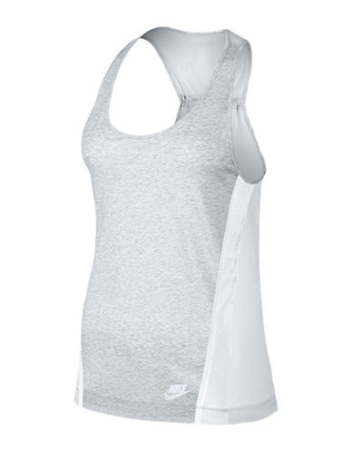 Nike Bonded Jersey Tank Top-GREY-Small 88414432_GREY_Small